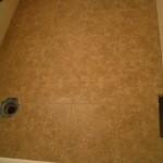 Ditra porcelain floor tile