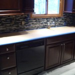 Glass tile backsplash in Fort Collins, CO