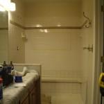 Kerdi shower before photo