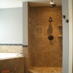 Kerdi shower remodel before photo