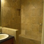 Kerdi master shower with Laticrete's Spectalock epoxy grout in Fort Collins