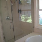 Kerdi shower and tub tile installation in Fort Collins, Colorado