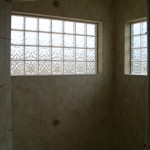 Glass Block window installation in Loveland, CO