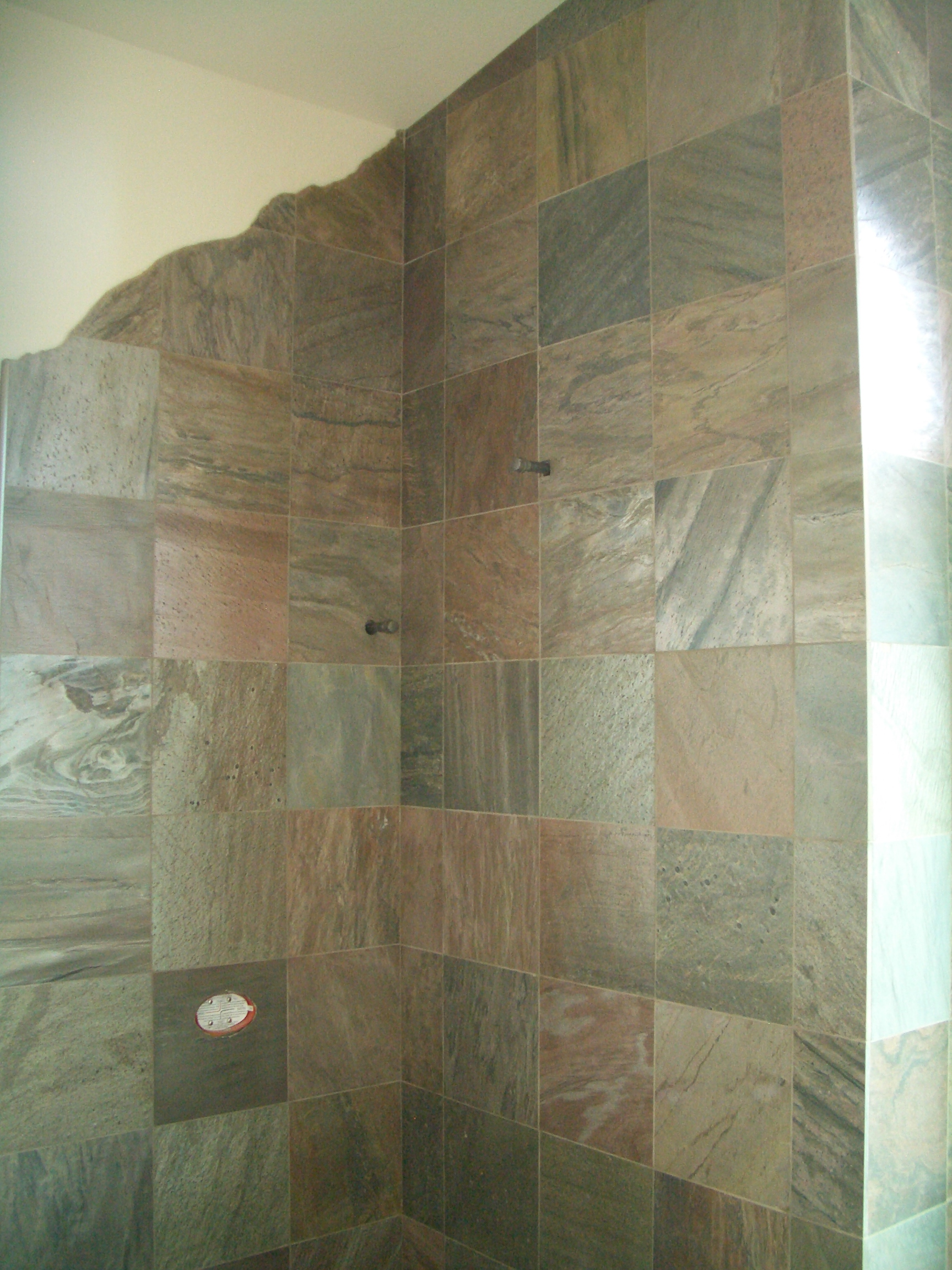 Slate Master Bathroom