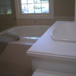 Staron hard surface countertop installation in Fort Collins